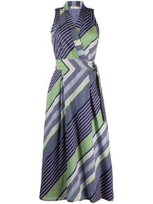 платье в полоску с запахом Tory Burch 151955254950