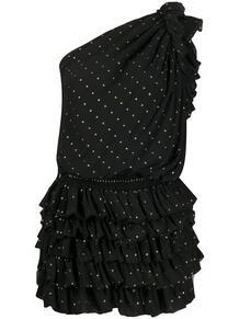 платье с блестками Yves Saint Laurent 150753215154