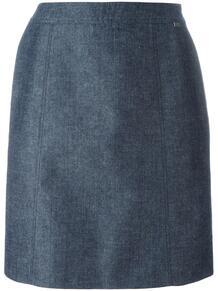 классическая юбка прямого кроя Chanel Pre-Owned 114986135156