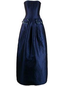 вечернее платье без бретелей TALBOT RUNHOF 152219745250