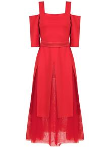 платье с открытыми плечами GLORIA COELHO 130415395154