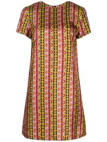платье-трапеция с принтом La Doublej 156888788876