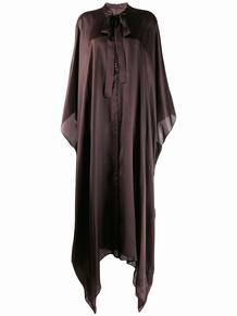 удлиненная рубашка с драпировкой HaiderAckermann 140506385152