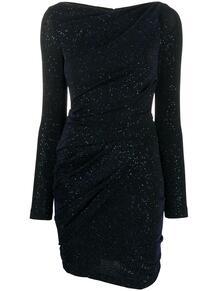 платье с блестками и сборками TALBOT RUNHOF 152219085248