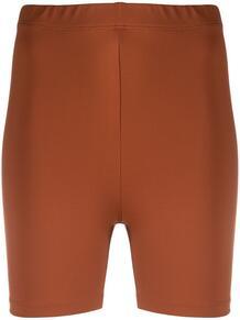 облегающие шорты с эффектом металлик Styland 1620128876
