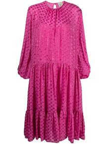 ярусное платье миди в горох L'Autre Chose 163595625250