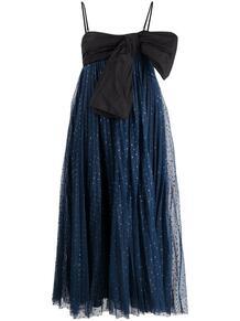 платье с блестками RED VALENTINO 163296215250