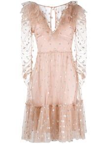платье из тюля с пайетками TEMPERLEY LONDON 1467213554