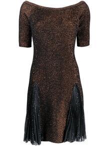 платье с вырезом-лодочкой MARCO DE VINCENZO 144055955252