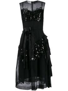 платье из тюля с пайетками SIMONE ROCHA 143959604948