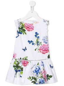 платье с цветочным принтом Monnalisa 135905904950