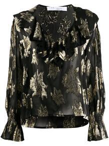 блузка с цветочным принтом IRO 156993665156