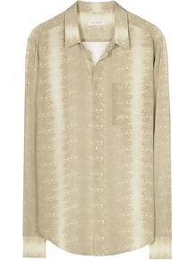 рубашка кроя слим с накладным карманом EQUIPMENT GENDER FLUID 15870435888876