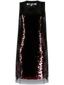 платье-трапеция McQ Swallow 143737235248