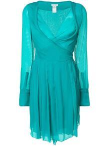 шифоновое платье Céline Pre-Owned 124075465156