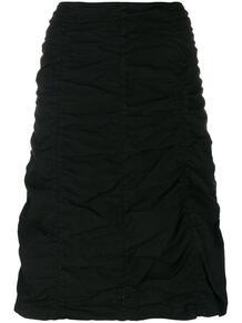 юбка со сборками Romeo Gigli Pre-Owned 128732875248