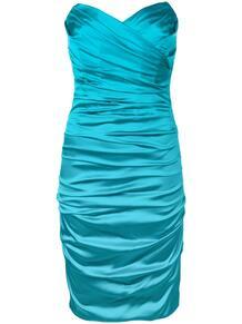 драпированное платье без бретелей Dolce & Gabbana Pre-Owned 136609675248