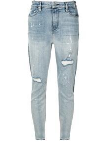 двухцветные джинсы скинни RTA 154410935149