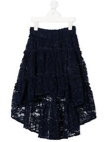 длинная кружевная юбка Monnalisa 1561777850