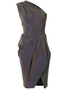 платье с драпировкой Maticevski 158341924948