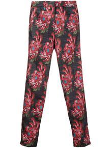 укороченные брюки с цветочным принтом John Richmond 149846725248