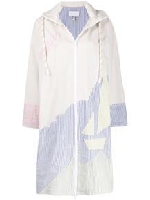 пальто Sailing Boat с капюшоном Mira Mikati 151424235248