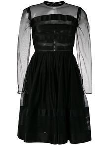 приталенное платье с расклешенным подолом 1990-х годов Chanel Pre-Owned 135759315156