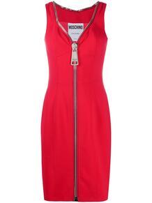 коктейльное платье на молнии Love Moschino 155973445248