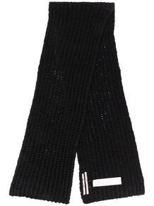 шарф крупной вязки Rick Owens 15890264636363633263