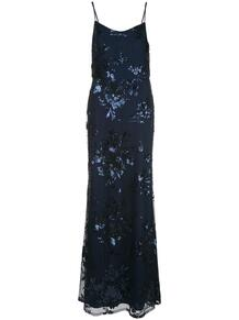 платье с пайетками MarchesaNotte 1486228652