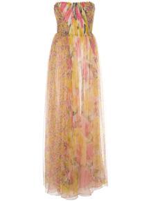 длинное платье без бретелей JASON WU COLLECTION 1456361450
