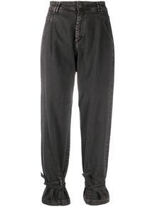 зауженные джинсы с манжетами FEDERICA TOSI 158742555056