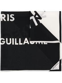 шарф с логотипом Lagerfeld 14881011636363633263
