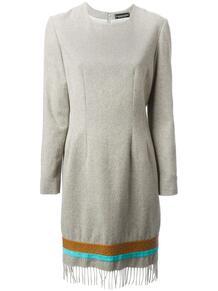 платье с бахромой Jean Louis Scherrer Pre-Owned 108381655156
