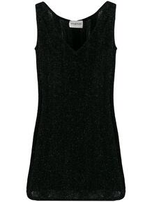 платье мини 2000-х годов с блестками Emanuel Ungaro Pre-Owned 139857165250