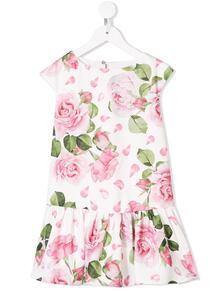 платье без рукавов с цветочным принтом Monnalisa 135654854950