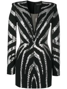 декорированное коктейльное платье David Koma 151995404950