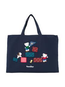 джинсовая сумка-тоут с вышивкой Familiar 12855493636363633263