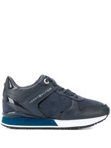 кроссовки с контрастными вставками Tommy Hilfiger 155884915249