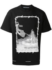 футболка с принтом UNITED STANDARD 159384158876