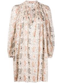 платье-туника с принтом пейсли ISABEL MARANT ÉTOILE 162218125248