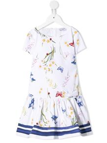 платье с принтом Monnalisa 1510545756