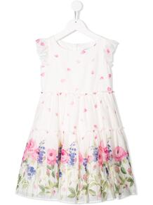 платье с цветочным принтом Monnalisa 1380853953