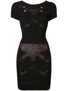 трикотажное платье Chanel Pre-Owned 134467375154