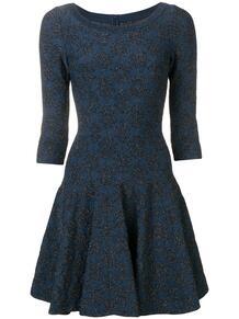 расклешенное платье с блестками Alaïa Pre-Owned 137970245156