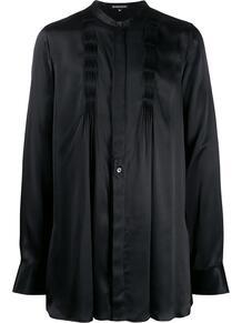 рубашка с длинными рукавами и складками Ann Demeulemeester 144385628883