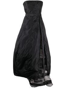 платье 1990-х годов без бретелей со сборками Gianfranco Ferré Pre-Owned 150871725252