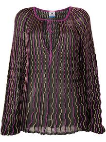 блузка с эффектом металлик и вышивкой M Missoni 158992935252