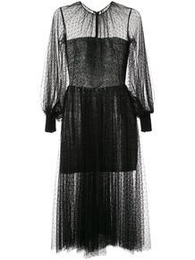 сетчатое коктейльное платье Saiid Kobeisy 147228605156