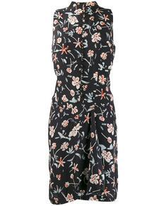 короткое платье 2000-х годов с цветочным принтом Chanel Pre-Owned 140704745250